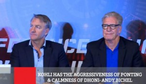 Kohli Has The Aggressiveness Of Ponting & Calmness Of Dhoni - Andy Bichel