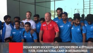 Indian Men's Hockey Team Returns From Australia Tour, Joins National Camp In Bhubaneswar