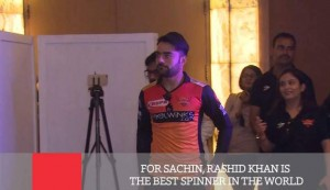 For Sachin, Rashid Khan Is The Best Spinner In The World