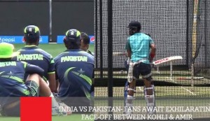 India Vs Pakistan - Fans Await Exhilarating Face-Off Between Kohli & Amir