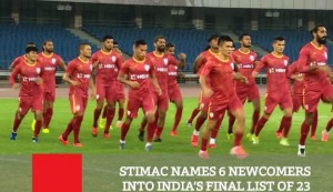 Stimac Names 6 Newcomers Into India's Final List Of 23