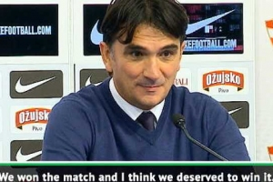 Dalic hails dramatic and 'deserved' win for Croatia