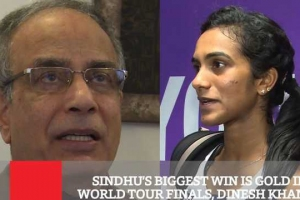Sindhu's Biggest Win Is Gold In World Tour Finals - Dinesh Khanna