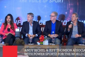 Andy Bichel & Jeff Thomson Associate With Power Sportz For The World Cup