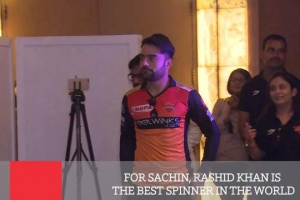 For Sachin, Rashid Khan Is The Best Spinner In The World