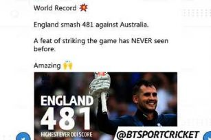 Socialeyesed - England smash ODI world record