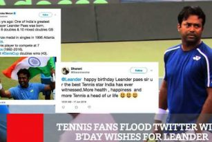 Tennis Fans Flood Twitter With B'day Wishes For Leander