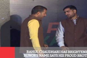 Rahul Chaudhari Has Brightened Bijnor's Name Says His Proud Brother