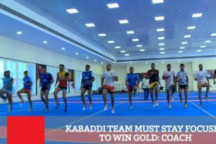 Kabaddi Team Must Stay Focused To Win Gold: Coach
