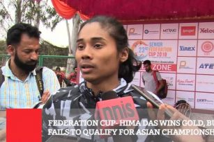 Federation Cup Hima Das Wins Gold, But Fails To Qualify For Asian Championship