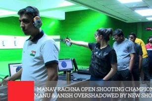 Manav Rachna Open Shooting Championship - Manu & Anish Overshadowed By New Shooters