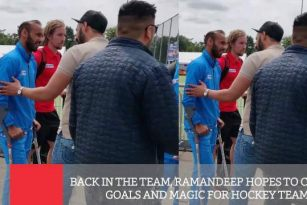 Back In The Team, Ramandeep Hopes To Create Goals And Magic For Hockey Team