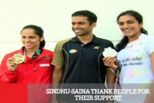 Sindhu And Saina Thank People For Their Support