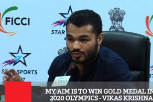 My AIM Is To Win Gold Medal In 2020 Olympics - Vikas Krishna