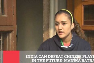 India Can Defeat Chinese Players In The Future - Manika Batra