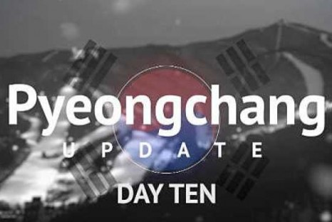 Pyeongchang 2018: Day 10 update - Dead heat in the bobsleigh