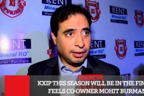 KXIP This Season Will Be In The Finals - Co-Owner Mohit Burman