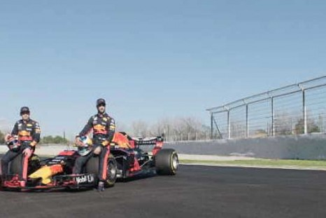 Ricciardo and Verstappen prepare for new season