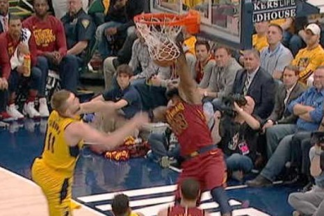 LeBron dazzles with spin moves in Cavs defeat