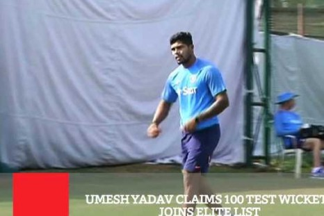 Umesh Yadav Claims 100 Test Wickets, Joins Elite List