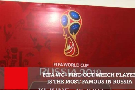FIFA WC  Find Out Which Player Is The Most Famous In Russia