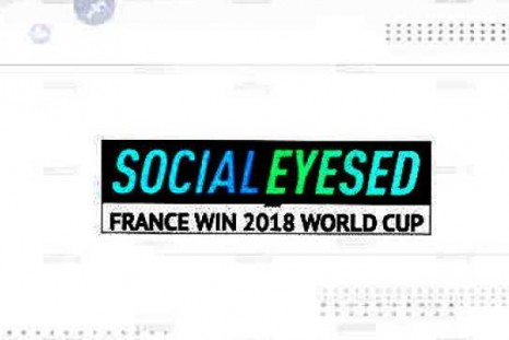 Socialeyesed - France win 2018 World Cup