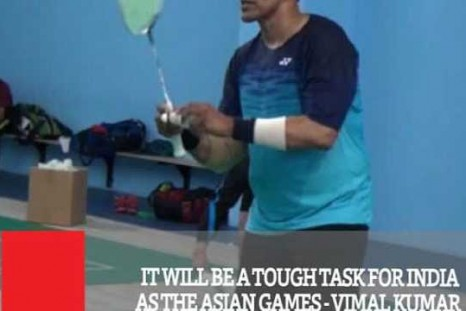 It Will Be A Tough Task For India As The Asian Games - Vimal Kumar