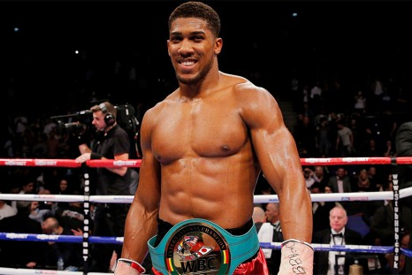 Joshua isn't getting used to fighting at Wembley