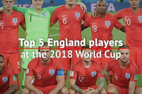 Top 5 England players at the 2018 World Cup