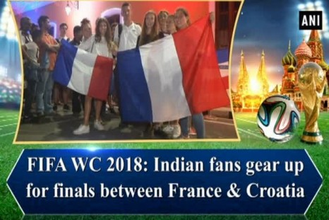 FIFA WC 2018: Indian fans gear up for finals between France & Croatia