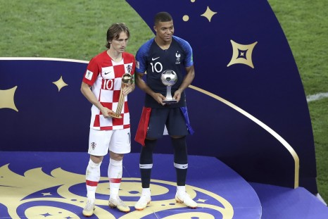 Luka Modric - Golden Ball Winner