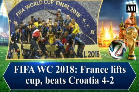 FIFA WC 2018: France lifts cup, beats Croatia 4-2