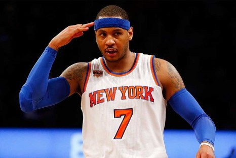 Carmelo Anthony joins the Houston Rockets