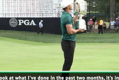 I can't believe my Major success after injury - Koepka