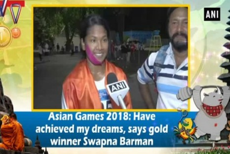 Asian Games 2018: Have achieved my dreams, says gold winner Swapna Barman