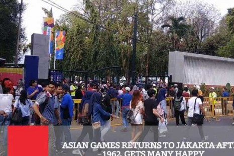 Asian Games Returns To Jakarta After 1962, Gets Many Happy