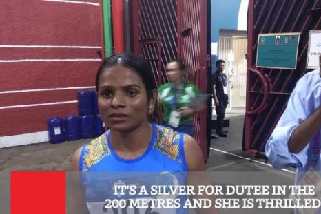 It's A Silver For Dutee Chand In The 200 Metres
