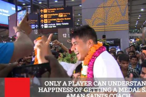 Only A Player Can Understand Happiness Of Getting A Medal Says Aman Saini's Coach