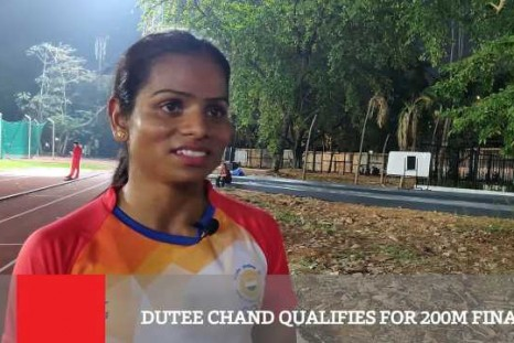 Dutee Chand Qualifies For 200m Final