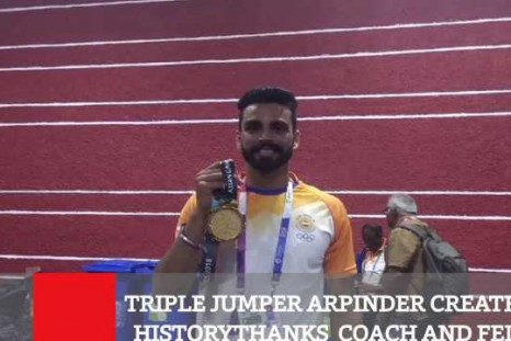 Triple Jumper Arpinder Creates History, Thanks  Coach And Fed