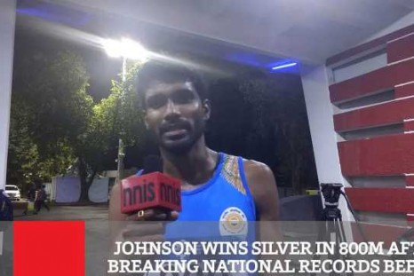 Johnson Wins Silver In 800m After Breaking National Records Before