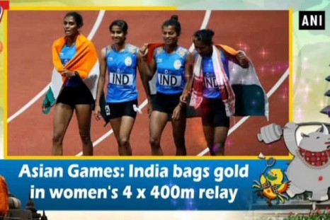 Asian Games: India bags gold in women's 4 x 400m relay