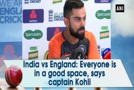 India vs England: Everyone is in a good space, says captain Kohli.