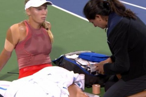 Wozniacki's US Open takes a hit after injury in Cincinnati