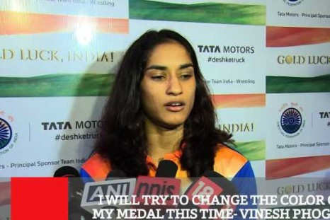 I Will Try To Change The Color Of My Medal This Time - Vinesh Phogat