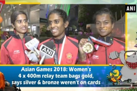 Asian Games 2018: Women's 4 x 400m relay team bags gold, says silver & bronze weren't on cards