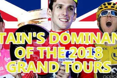 Britain's dominance of the 2018 Grand Tours