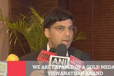 We Are Capable Of A Gold Medal - Viswanathan Anand