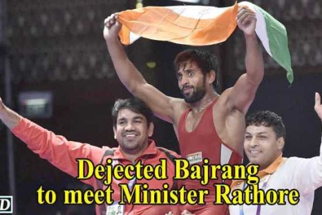 Khel Ratna awards : Dejected wrestler Bajrang to meet Minister Rathore
