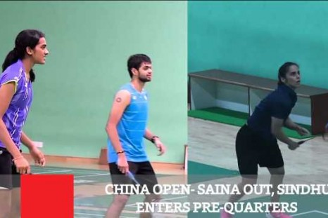 China Open : Saina Out, Sindhu Enters Pre-Quarters